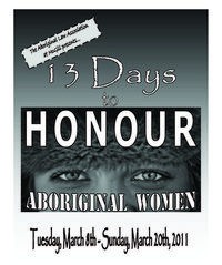 13 Dys to Honour Aboriginal Women