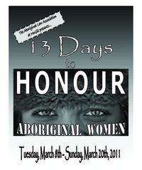 13 Dys to Honour Aboriginal Women
